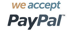 We take PayPal
